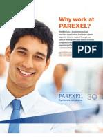 Working at Parexel