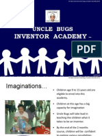 Uncle Bugs Inventor Academy (slides)