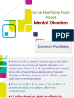 Some Horrifying Facts About Mental Disorders