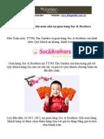đồ trẻ em Soc & Brothers giảm giá khuyến mãi