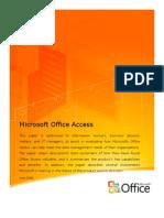 Microsoft Access Vision