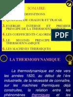 Cours de Thermodynamyque Smc1
