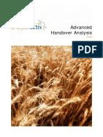 Advanced Handover Analysis