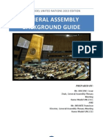 GENERAL ASSEMBLY - Background Guide