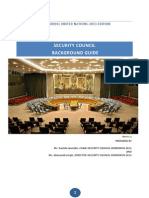Security Council - Background Guide