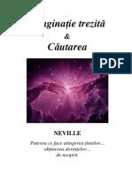 Neville Goddard-Imaginatie Trezita Si Cautarea