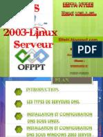 DNS Sous Linux et Windows Serveur 2003