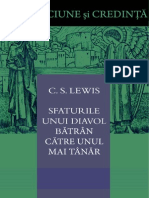 C.S. Lewis - Sfaturile Unui Diavol Batran Catre Unul Mai Tanar