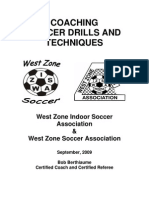 Coaching Soccer Drills & Techniques