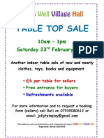 TWVH sale poster