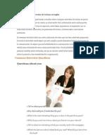 Pautas Para Una Entrevista de Trabajo en Ingles