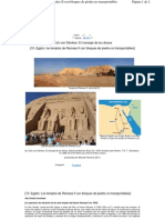 Los Templos de Ramses II