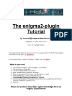 e2 Plugin Tutorial English