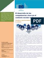 Desarrollo Competencias Claves Eurydice