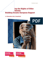 Conference report on Strengthening the Rights of Older People Worldwide