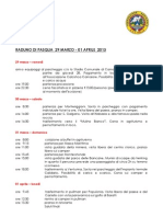 Programma Raduno Pasqua 2013