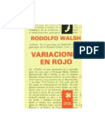 Rodolfo Walsh - Variaciones en Rojo 01