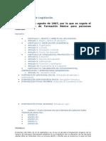 legislación ESO ADULTOS