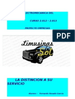 PROYECTO LIMUSINA