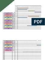 Mapa de Gantt _ resolução de testes