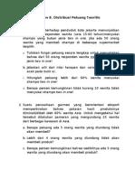 Latihan 9 & 10. Distribusi Peluang Teoritis-D1