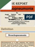 Bronchopneumonia PP 2003