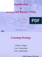 Strategy and Business Presentation