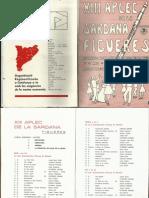 XIII Aplec Sardana_Homenatge_Els Mauné_19-05-1974
