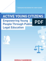 Active Young Citizens - Empowering Young People Through Public Legal Education