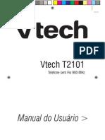 Manual Tel t2101