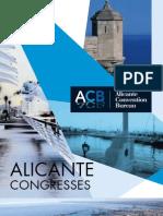 Folleto Alicante Convention Bureau Ingles 2011
