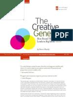 Creative Generalist.