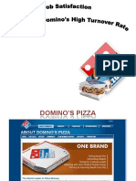 18023677 Case Study OB Dominos Pizza Job Satisfaction