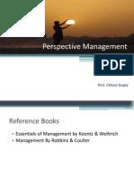 1 Perspective Management