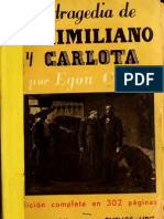 Egon Corti, Maximiliano y Carlota