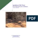 Bioremediation Oily Wastes