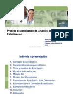 Proceso de La Acreditacion de La Central de Esterilizacion [Modo de Compatibilidad]