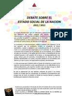 DebatelEstadoSocialdelaNacion_AsociaciondirectoresygerentesServiciosSociales2012-2013
