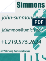 German Business Card Lab 4