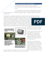 Single-Phase Electric Motor Characteristics and Applications