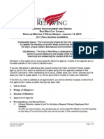 January 14, 2013 Red Wing City Council  Minutes
