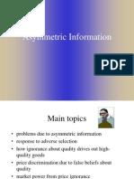 Assymmetric Info