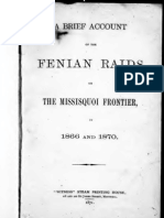 Brief Account of the Fenian Raids 1877