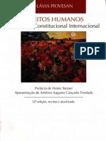 Flávia Piovesan Direitos Humanos e o Direito Constitucional Internacional