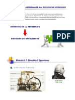 Capítulo 1 Introduccion de Direccion operativa