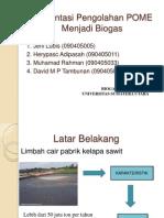 Presentation Biogas