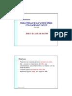 Tema 4 XML y BD