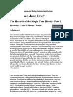 Articol Loftus - Jane Doe