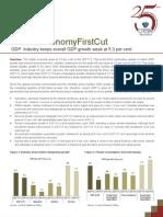 Economy First Cut GDP_2QFY13