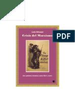 Althusser, Louis - Crisis Del Marxismo